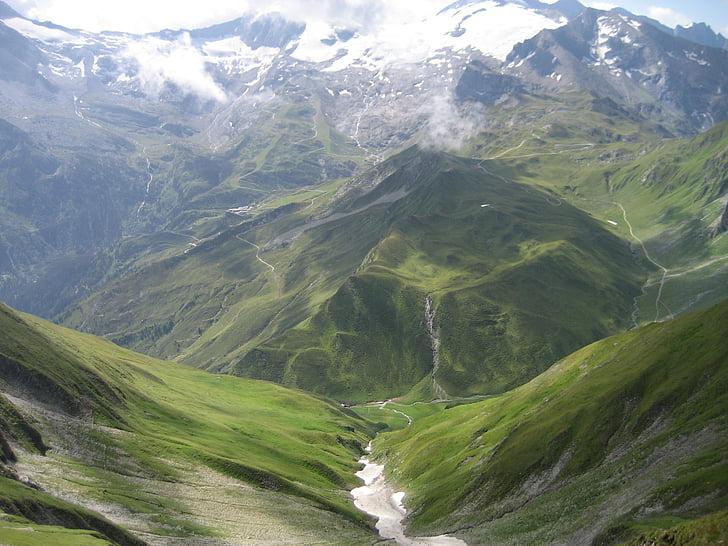 mäed, orud, lumi tippkohtumisel