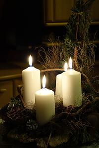 Advent, pärg, Advent pärg, jõulud Ehted, teenetemärgi, jõulud, jõulude ajal