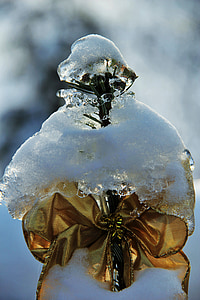 ice and snow, ice snow, eiskristalle, snow, atmospheric, weihachten in snow, christmas