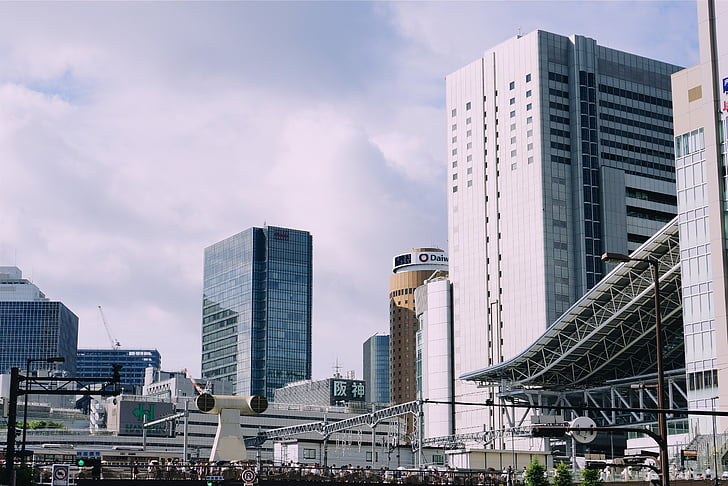buildings, architecture, city, urban, towers, high rises