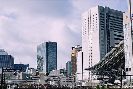 bangunan, arsitektur, Kota, perkotaan, Menara, susun