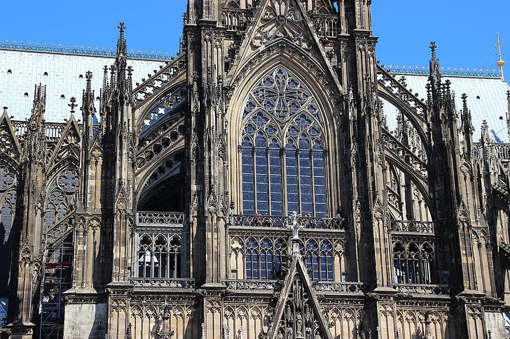 Kastil Cologne, Gereja, arsitektur, tempat-tempat menarik, Cologne, Landmark, Jerman