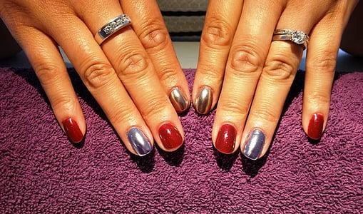 ungles d'art, ungles, ungles, dits, manicura, maquillatge, esmalt