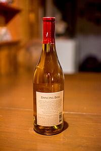 valge vein, alkoholi, joogid, likööri, jook, klaas, pool