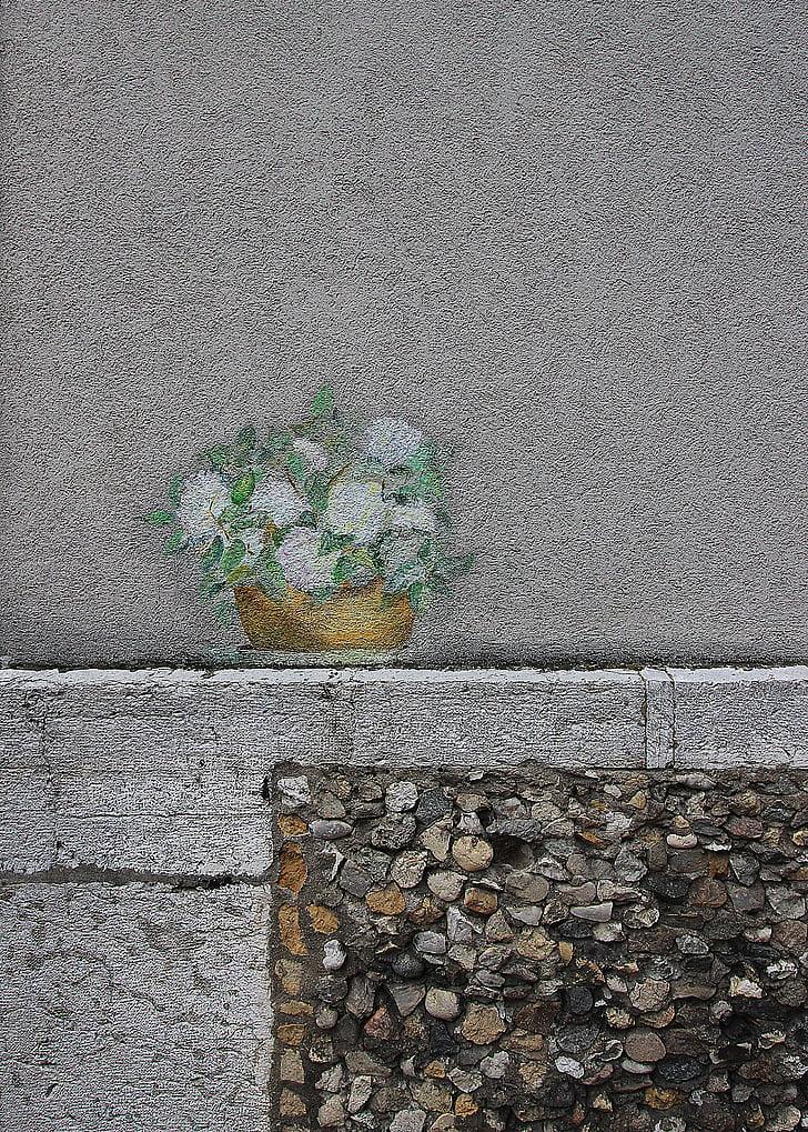 graffiti, morta, parets