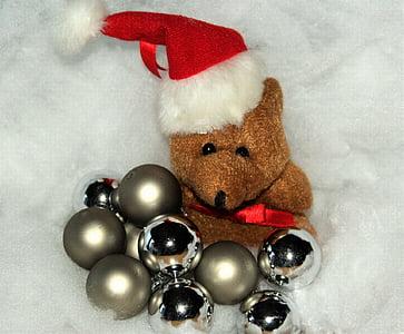 christmas, christmas bear, snow, christmas eve, christmas time, embassy, christmas card