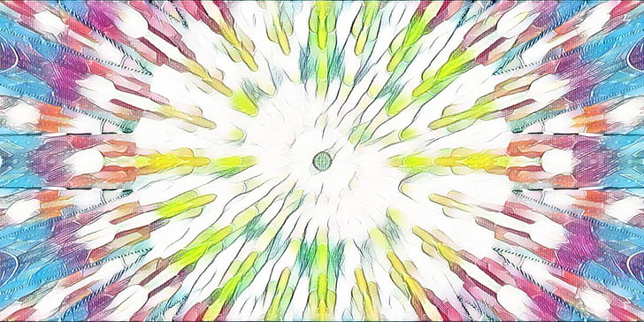 цветове, много цветни, абстрактни, мозайка, симетрия, изкуство, Ирис