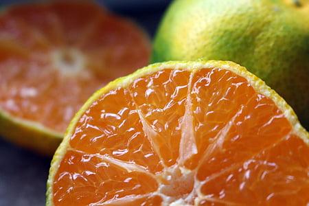 Zelena mandarina, agrumi, mandarine, jesti, voće, zdrav, zelena