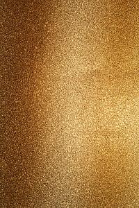 fono, Auksas, mielas, Blizgučiai, blizgantis fone, poveikis, aukso spalvos