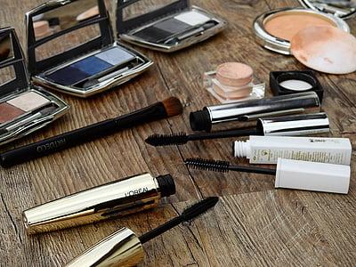 Косметика, складають, макіяж, Краса, колір, порошок, Руж