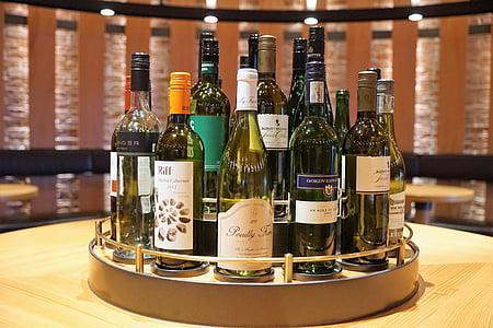 veini, riiul, vinoteek, Cork, pudel, alkoholi, jook