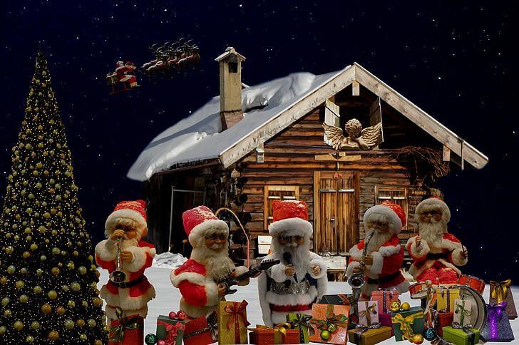 คริสมาสต์, อวยพรวันคริสต์มาส, ส่วนซานตา, ซานตาคลอส, นิโคลัส, เลื่อนวันคริสต์มาส, คริสมาสต์เด่น