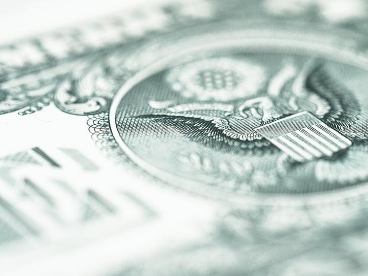 dollari, dollarin setelin, laskut, rahoitus, varoja, meille, dollarin, rahaa