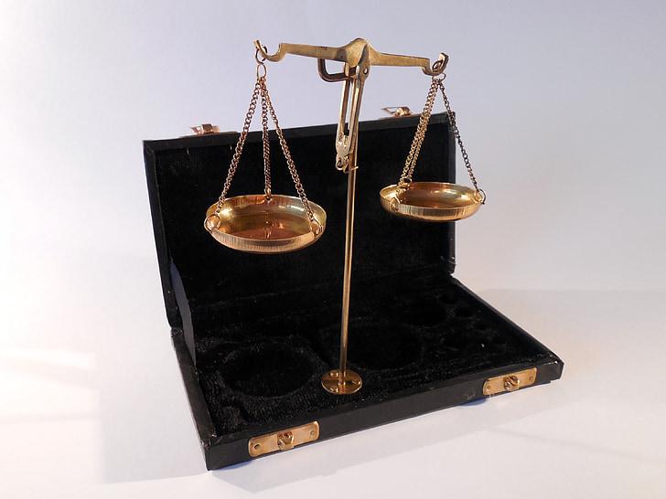 horitzontal, pesen, pes, vell, mesura, sospesar les, equilibri