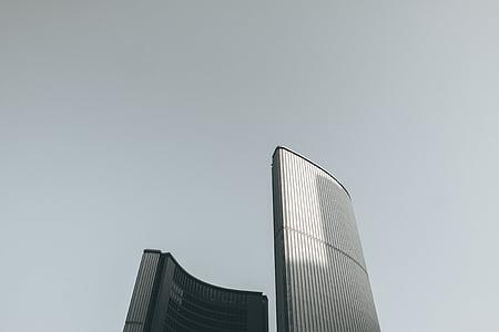 architecture, skyscrapers, urban, architect, skyscraper, modern, urban Scene