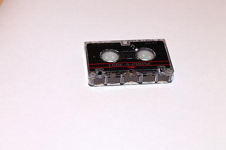 Microordinador cassets, Caixa de casset, Casset, microcassette, cinta, banda, cinta de dades
