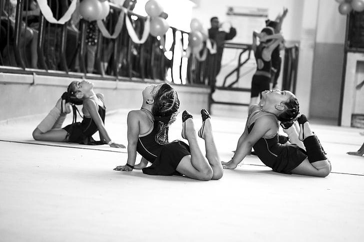 meitenes, deja, dejotājiem, balets, Rosa, čības, padomi
