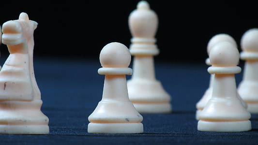 chess, concentration, pawn, game, strategy, leisure Games, pawn - Chess Piece