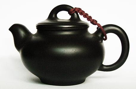 chá da tarde, bule de chá, artesanato tradicional chinesa, chá - quente bebida, culturas, bebida, Copa