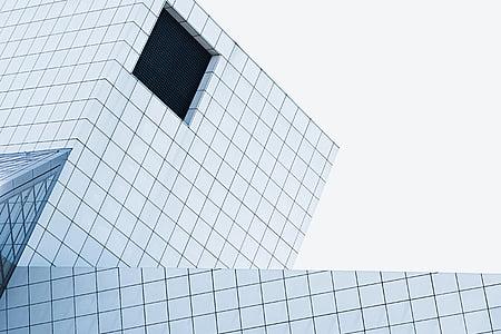 architecture, building, infrastructure, design, hole, skyscraper, window