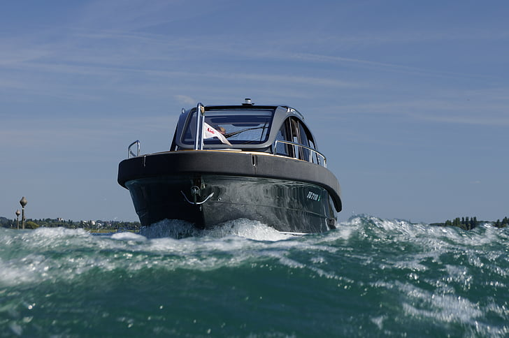 motor yacht, Motorbåd, Marino apb, Day cruiser, nautiske fartøj, havet, transport