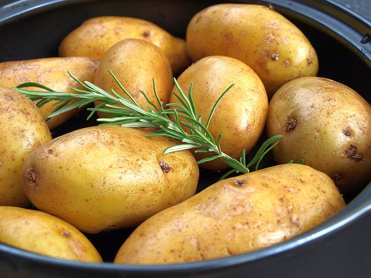 картофель, Розмари, картофелем гриль