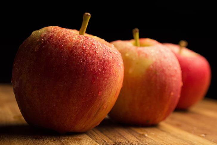 Apple, puu, võimsus, maitse, punane õun, siider