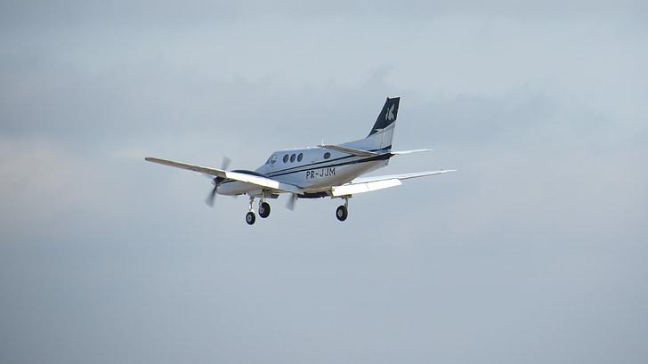 plane, small, aviation, motor, driving, trip, aircraft