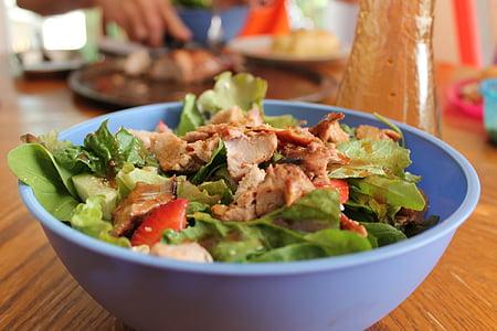 샐러드, 여름 음식, 건강 한, 자연
