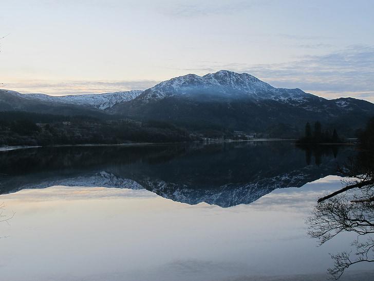 lake, water, scotish lake