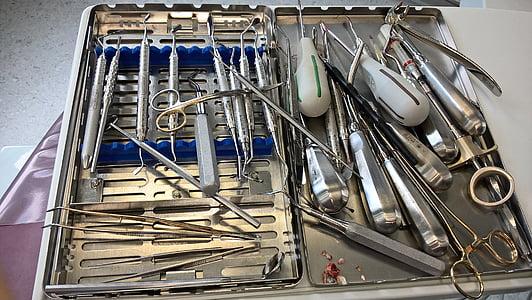 牙医, 工具, 牙科, 设备, 医学, 牙科, 诊所