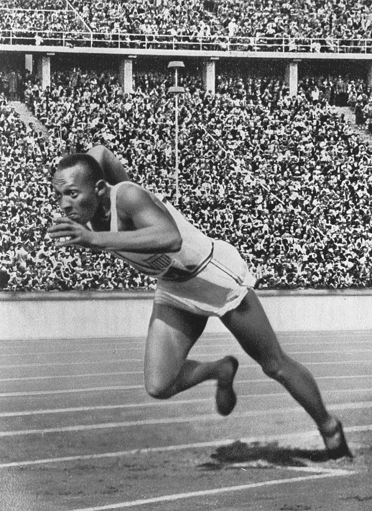 sprinter, athletes, jesse owens, olympiad, black, negro, fast