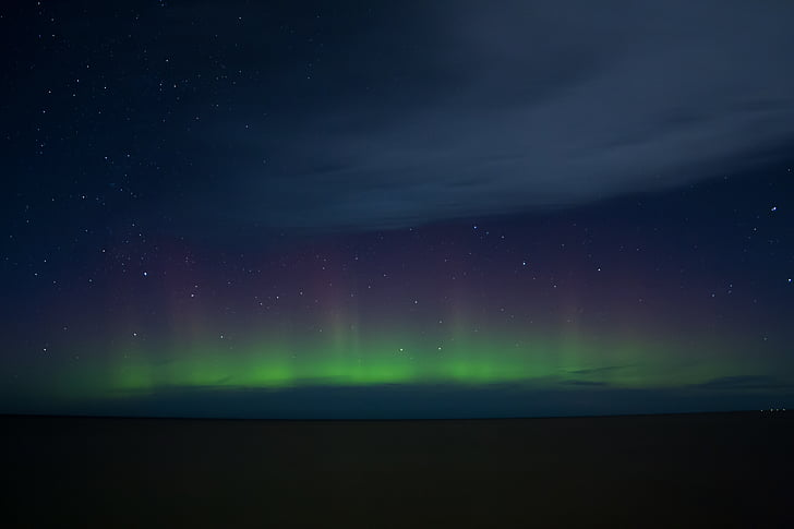 nordlys, Sky, nat, Aurora, grøn, astronomi, atmosfære