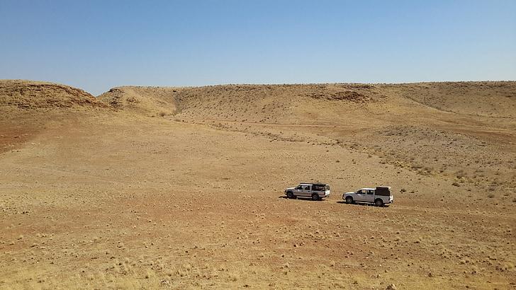 viatjar, Càmping, Namíbia, paisatge, 4 x 4, l'aire lliure, muntanya