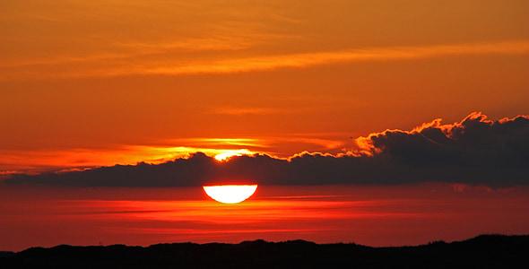 západ slnka, nálada, dosvit, Sky, Romance, večernej oblohe, oblaky