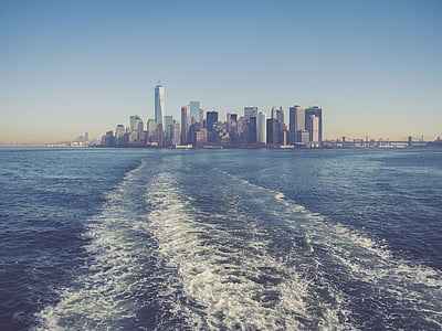Nova york, ciutat, m, ciutat de Nova york, Manhattan, York, nou