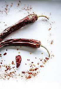 pepperoni, pebre, agut, agudesa, espècies, bitxo, Xile