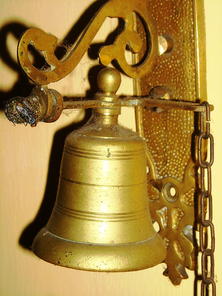 bell, antique, ancient
