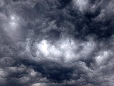 la tempesta de reunió, núvols, tempesta, temps, abans de la tempesta, cel, mal temps