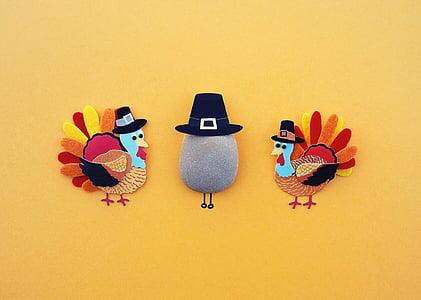 acció de gràcies, Turquia, vacances, sopar, tradicional, tardor, color de fons