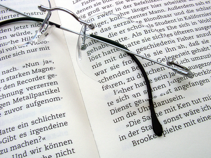 read, book, literature, pages, book pages, glasses, reading glasses