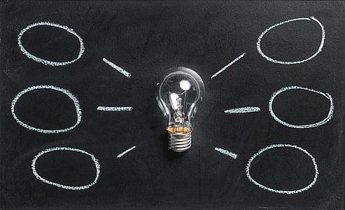 MindMap, pluja d'idees, idea, Innovació, imaginació, inspiració, bombeta
