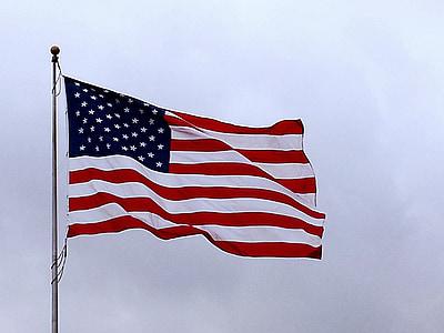 cờ Mỹ, lá cờ Mỹ, lá cờ, người Mỹ, biểu tượng, Hoa Kỳ, Quốc gia