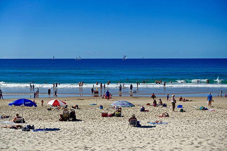 пляж, люди, спосіб життя, дозвілля, Приморський, пісок, берег моря