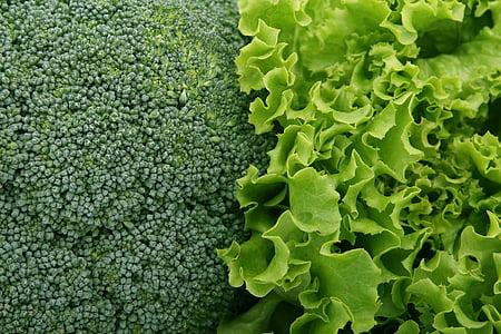 sự thèm ăn, bông cải xanh, brocoli broccolli, calo, Dịch vụ ăn uống, cận cảnh, đầy màu sắc