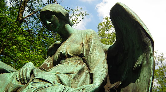 gravsten, sidste ro, Graves, grav, figur, tro, tavs