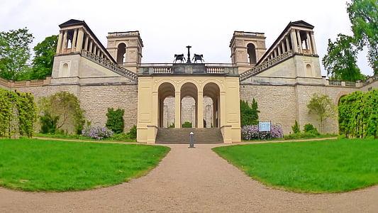 castle, potsdam, belvedere, historically, architecture, historic building, building