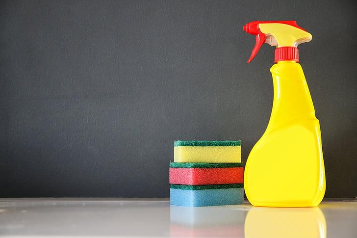 tīrīšana, Veļas mazgājamās, tīrīšana, sūklis
