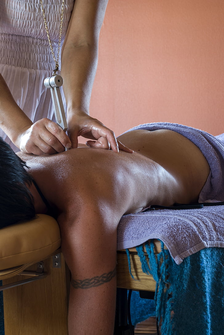 Skaistumkopšana, masāža, TUNING fork, muskuļi, atpūta, alternatīvā medicīna