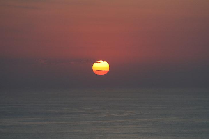 НД, Захід сонця, море, abendstimmung, небо, насолодитися сонцем і морем, післясвічення